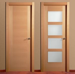 Porte placage tunisie for Puertas de madera para interiores baratas