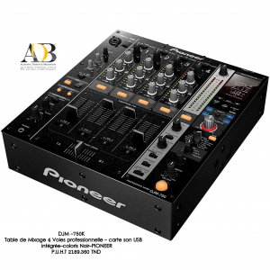 Table de mixage Pro, USB PIONEER