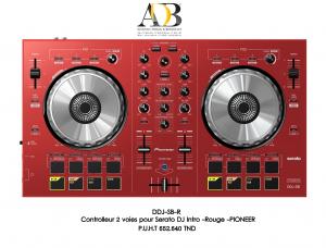 Contr�leur portable num�rique � deux canaux DJ SB PIONEER