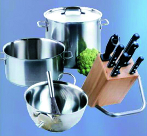 Articles de m�nage en inox