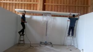 Installation et montage panneaux sandwich