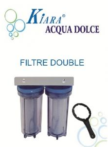 Filtre à eau double KIARA