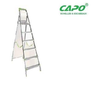 Escabeau galvanisé CAPO 3 marches