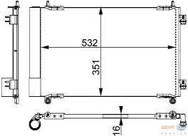 Condenseur  P206  AN2000