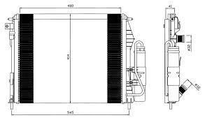 Condenseur + Radiateur  ClioII   AN98-05