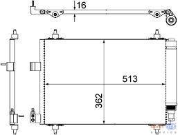 Condenseur P407***C5  AN2005