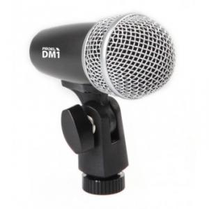 Microphone dynamique cardioïde  pour  batterie.