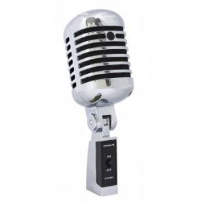 Microphone  dynamique  style ann�es  60