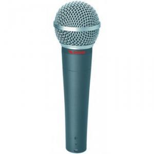 Microphone de scène dynamique pour chant et voix