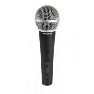 Microphone dynamique avec  interrupteur  On /Off