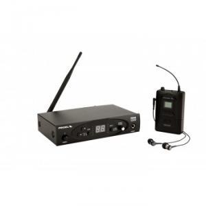 Système in-ear sans fil UHF professionnel  863 - 865 Mhz