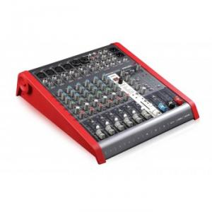 Compact 8-channel 4-bus mixer