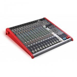 Compact 16-channel 4-bus mixer