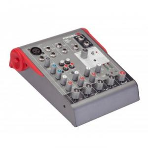 Ultra-compact 5-channel 2-bus mixer
