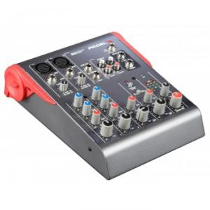 Ultra-compact 6-channel 2-bus mixer