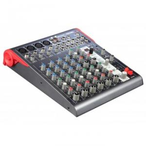Compact 12-channel 2-bus mixer