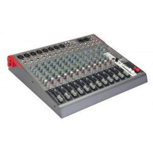 Compact 16-channel 2-bus mixer