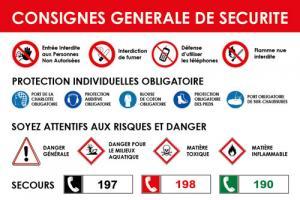 Consigne générale de sécurité