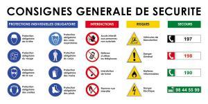 Consignes générale de Sécurité