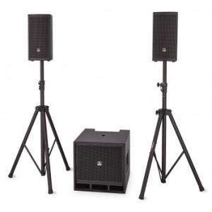 3-way SAT + SUB active loudspeaker system