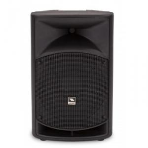 2-way bi-amplified loudspeaker system