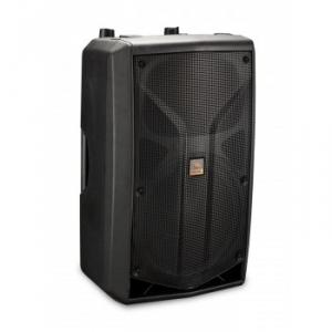 Bi-amplified 2-way loudspeaker system
