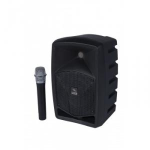 All-in-one battery powered sound system