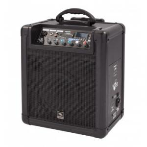 All-in-one battery powered combo sound system