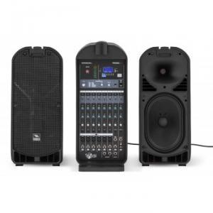 All-in-one luggage-style sound system