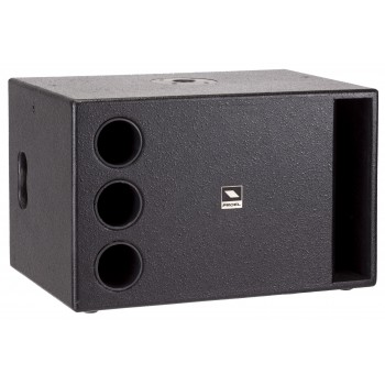 Compact active bandpass sub-woofer
