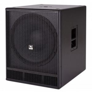 Compact active vented sub-woofer