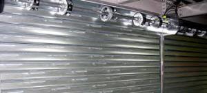 Portes basculantes et rideaux metalliques