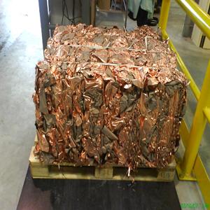 Recyclage des cuivreux : déchets cuivre, laiton, bronze,