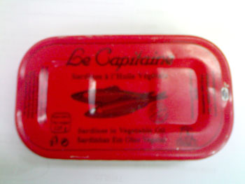Sardines a l'huile Vegetale