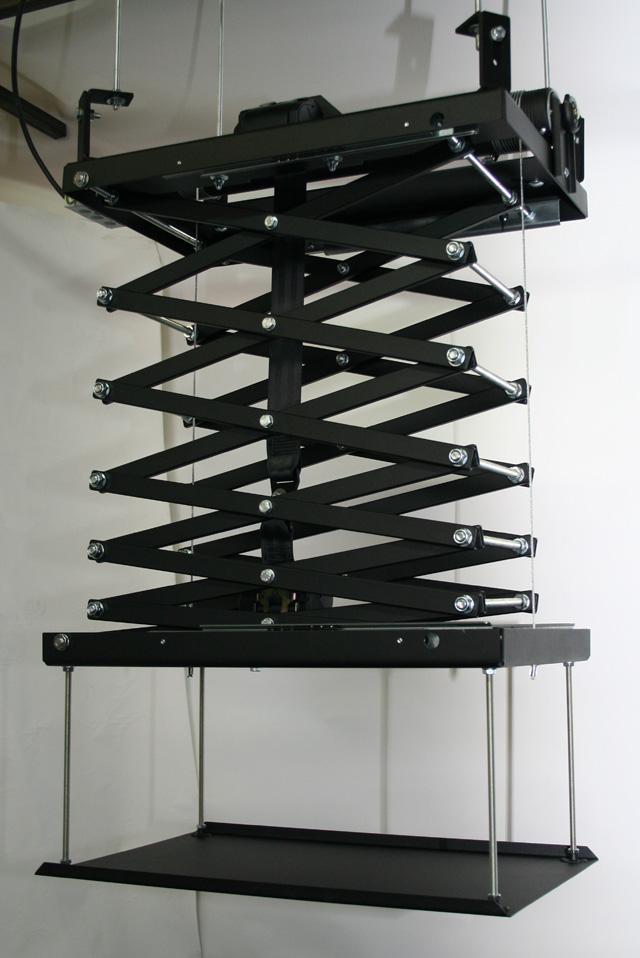 Support Plafond �lectrique s'int�grant dans le faux-plafond
