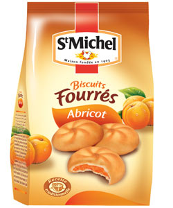 Biscuits fourr�s abricot