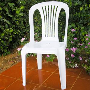 Chaise en plastique: Chaise Touzeur