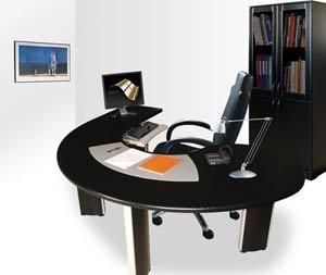 Mobilier de bureau: Bureau Oméga Aménagé