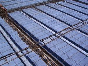Planchers et plafonds en béton précontraint