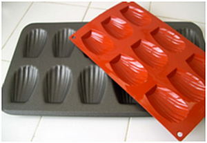Forme Silicone Madeleines