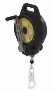 Antichute à rappel automatique évacuateur sauvetage