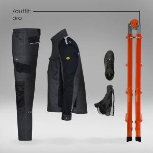 vetement de travail , pantalon, vetse ,chemise, chaussure de sécurite