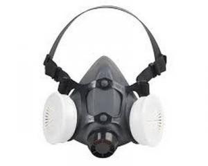 Demi masque  avec cartouche P3 covid  corona