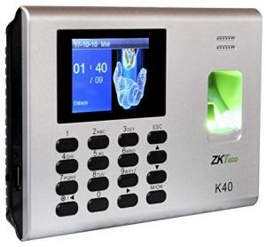 Terminal de Gestion de Temps de Présence et de controle d'acces avec Batterie  K40