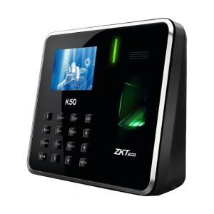 Terminal de Gestion de Temps de Présence  Biometrique ZKTeco K50