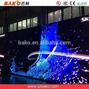 Murs vidéo éclairés par LED-BAKO