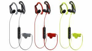 Écouteurs In-Ear Clip Sport, Télécommande Inline Smartphone, Sprayproof à IPX4