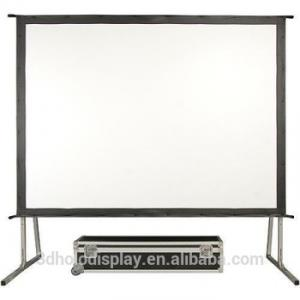 "Écrans De Projection Portable  with (flight-case) en 120 ""et 150"""