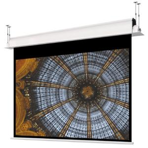 Écrans de projection électriques encastrés au plafond