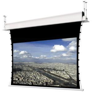 Écrans de projection  électriques encastrés au plafond avec système de tension latérale